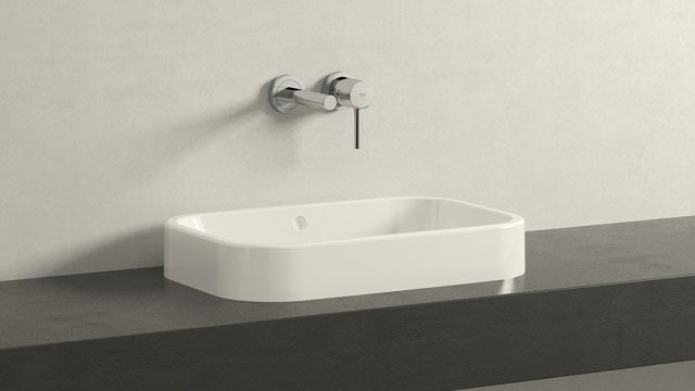 GROHE ESSENCE M-GRÖSSE + DURAVIT HAPPY D.2