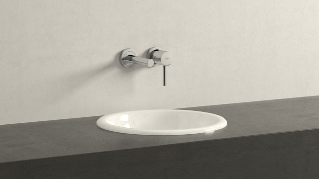 GROHE ESSENCE M-GRÖSSE + VILLEROY&BOCH LOOP & FRIENDS