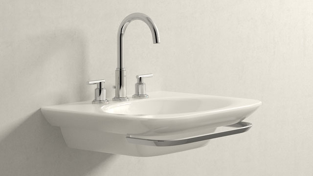 GROHE ATRIO L-SIZE + LAUFEN PALACE