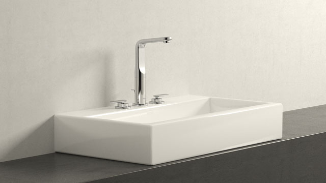 GROHE Veris L-Størrelse + Laufen Living City