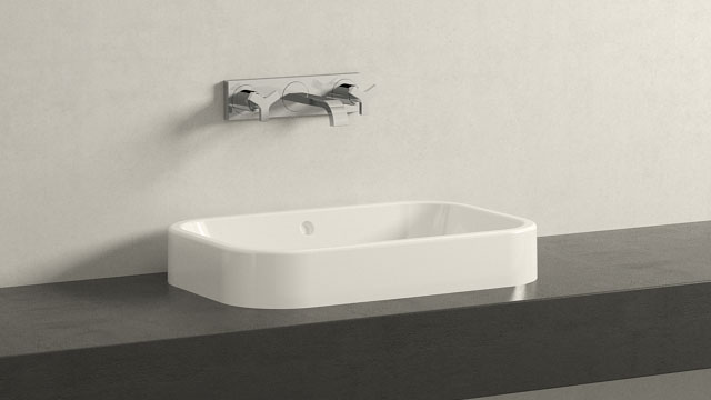 GROHE ALLURE M-SIZE + DURAVIT HAPPY D.2