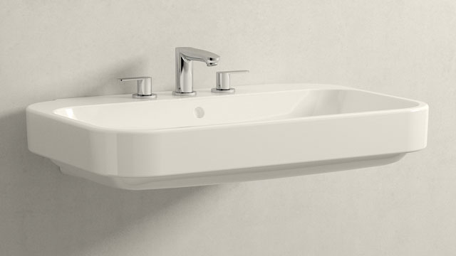 GROHE EUROSTYLE COSMOPOLITAN S-SIZE + DURAVIT HAPPY D.2