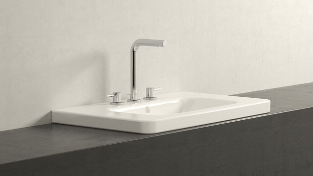 GROHE ESSENCE L-SIZE + DURAVIT DURASTYLE