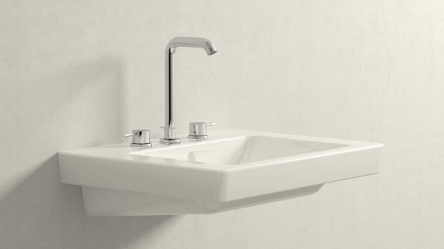 GROHE Essence NEW L-SIZE + Villeroy&Boch Subway 2.0