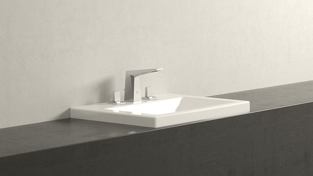 GROHE ALLURE BRILLIANT L-GRÖSSE + DURAVIT 2ND FLOOR