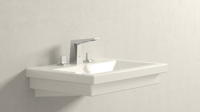 GROHE ALLURE BRILLIANT L-SIZE + DURAVIT 2ND FLOOR