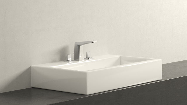 GROHE ALLURE BRILLIANT L-SIZE + LAUFEN LIVING CITY