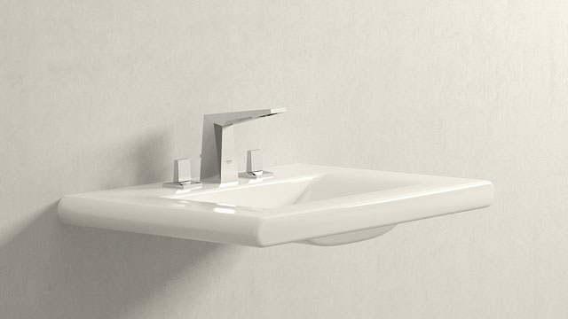 GROHE Allure Brilliant L-Størrelse + Laufen Living Style