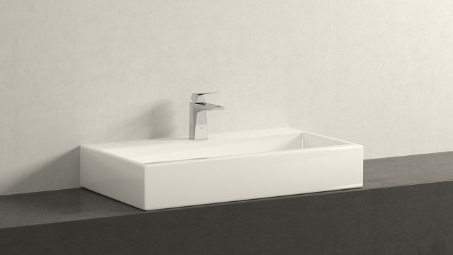 GROHE ALLURE BRILLIANT S-GRÖSSE + LAUFEN LIVING CITY