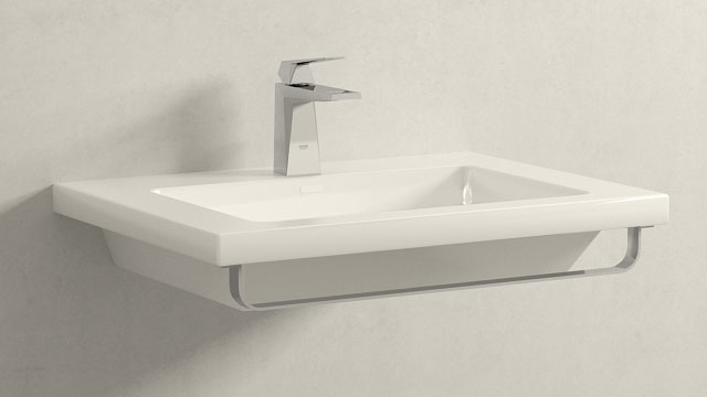 GROHE ALLURE BRILLIANT S-SIZE + LAUFEN LIVING SQUARE