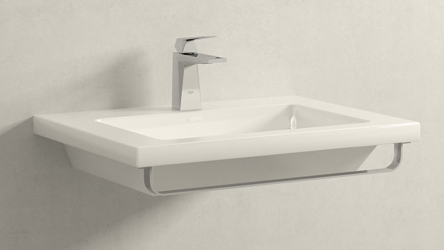 GROHE ALLURE BRILLIANT S-GRÖSSE + LAUFEN LIVING SQUARE