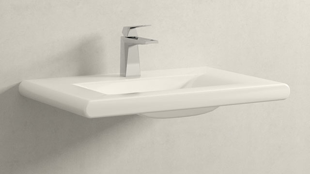 GROHE Allure Brilliant S-Størrelse + Laufen Living Style
