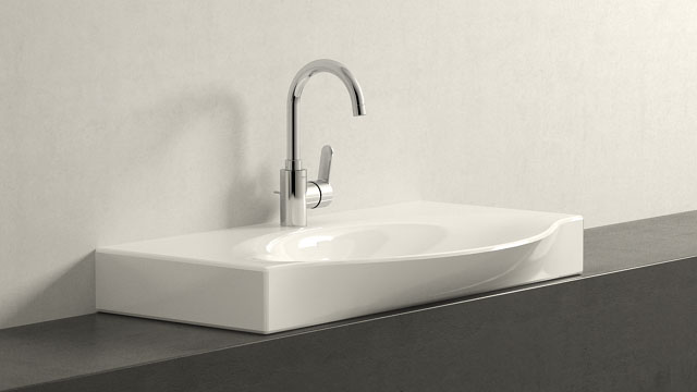 GROHE EUROSTYLE COSMOPOLITAN L-SIZE + LAUFEN PALACE