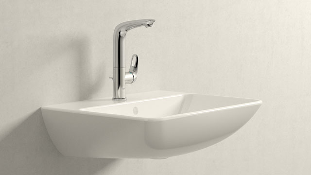 GROHE Eurostyle LStørrelse + Duravit ME by Starck