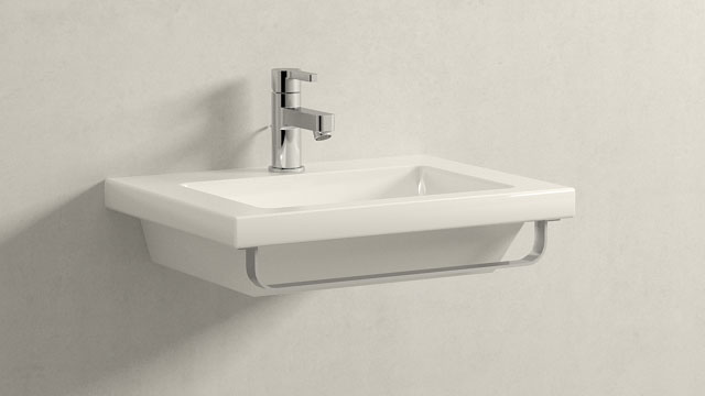 GROHE LINEARE XS-GRÖSSE + LAUFEN LIVING SQUARE
