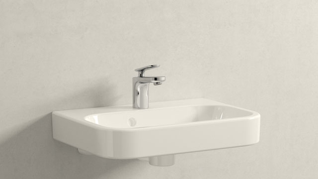 GROHE VERIS XS-SIZE + DURAVIT HAPPY D.2