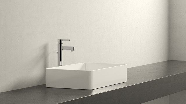 GROHE LINEARE XL-GRÖSSE + LAUFEN LIVING SQUARE