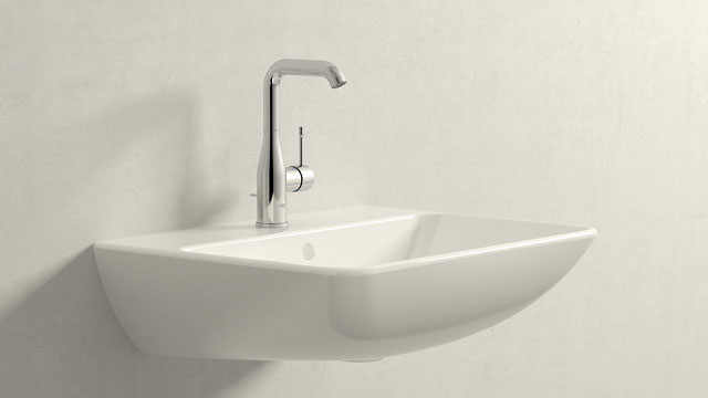 GROHE Essence NEW L-SIZE + Duravit ME by Starck
