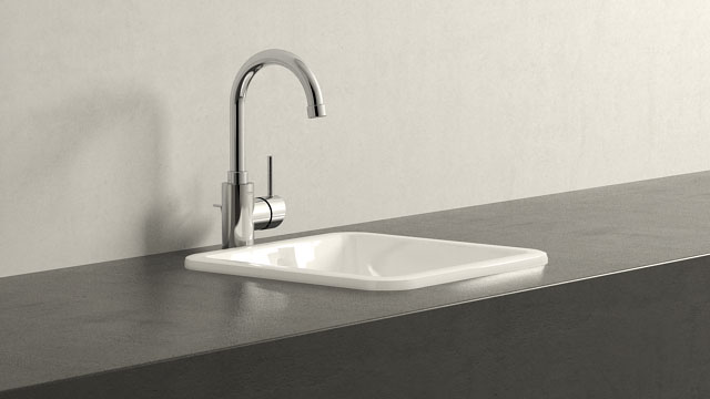 GROHE CONCETTO L-SIZE + VILLEROY&BOCH LOOP & FRIENDS