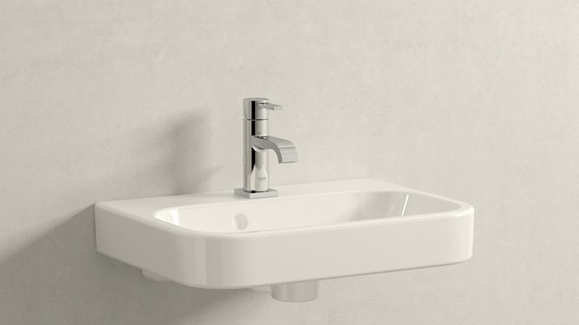 GROHE ALLURE S-SIZE + DURAVIT HAPPY D.2