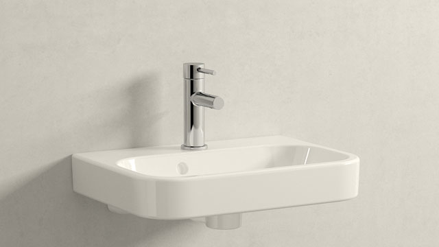 GROHE ESSENCE S-GRÖSSE + DURAVIT HAPPY D.2