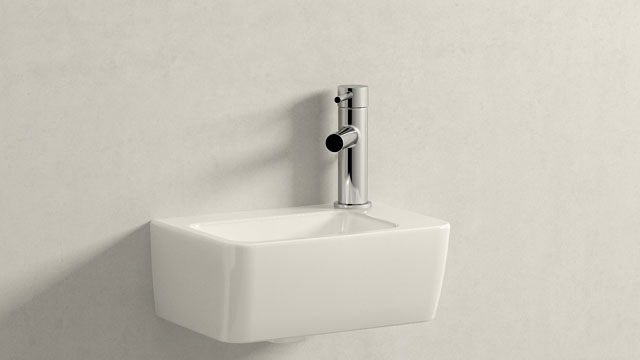 GROHE ESSENCE S-SIZE + LAUFEN PRO A