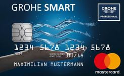 1. GROHE SMART Cash Card